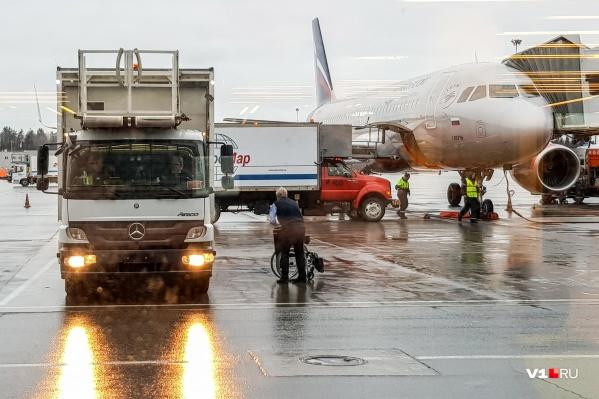 В Шереметьево самолет из Волгограда приземлился раньше, чем было обещано расписанием