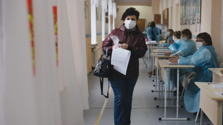 Челябинск голосующий: фоторепортаж с избирательных участков