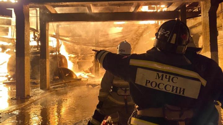 Следком Башкирии возбудил уголовное дело по факту пожара на «Уфаоргсинтезе»
