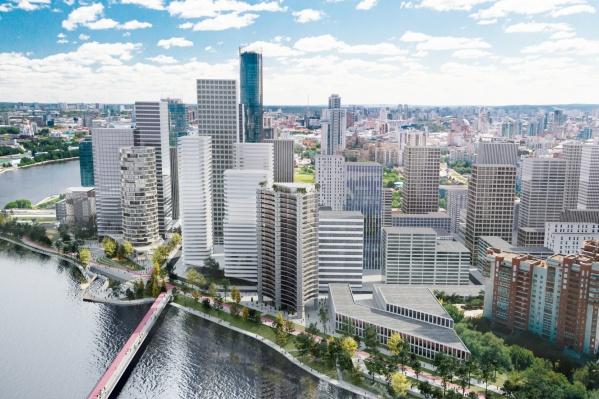 Проект квартала «Брусники» у Макаровского моста разрабатывало голландское бюро KCAP Architects&Planners