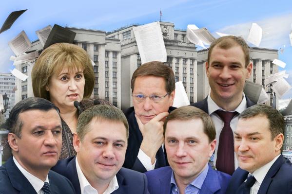 Семерка новосибирских депутатов разработала сотни самых разных законов