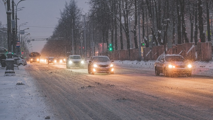 МЧС предупреждает: в Прикамье ожидается сильный снег и туман