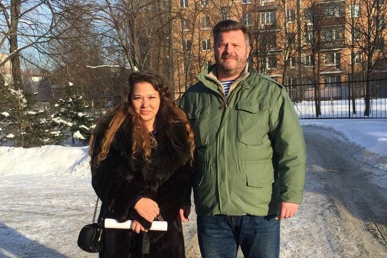 Адвокат Елена Тимашова и Вадим Бойко