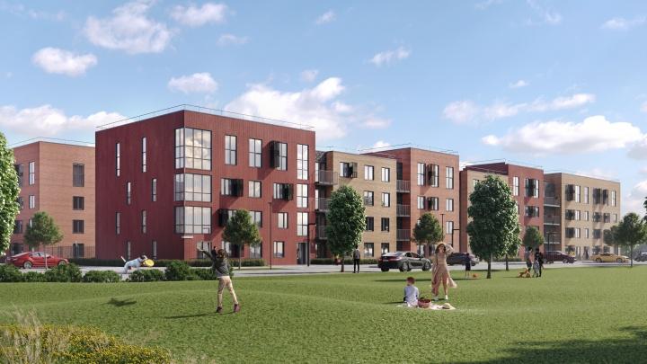 Голландские кварталы рядом с озерами и Гилевской рощей: 4D Development начал строить новый квартал