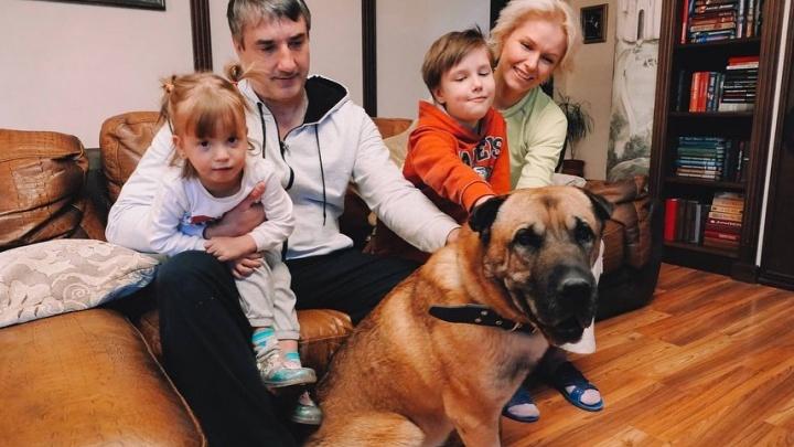 «Я готова дать ему любовь»: для челябинского пса, которого бросили у ветклиники, нашли новый дом