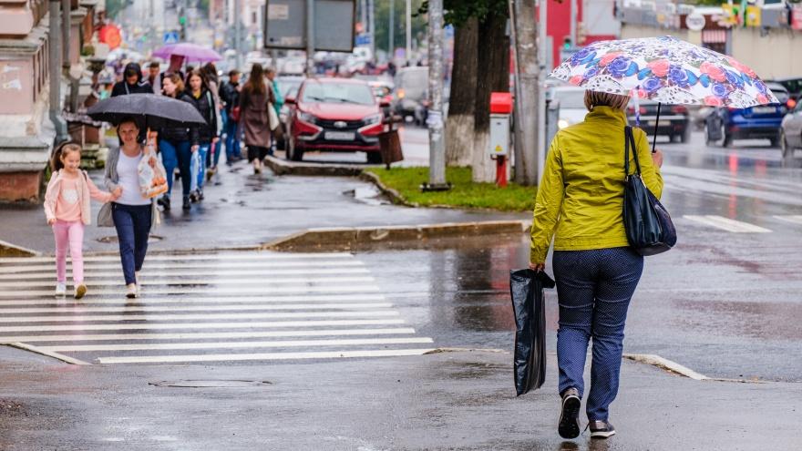 В Пермском крае пройдут дожди и грозы