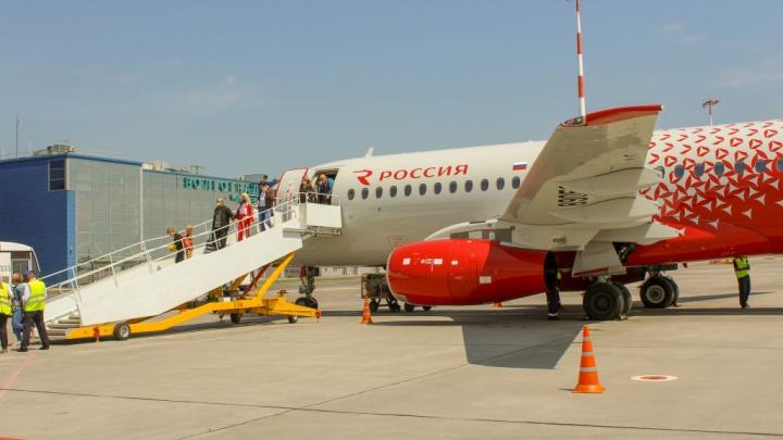 В Шереметьево на три часа задерживается рейс «России» до Волгограда