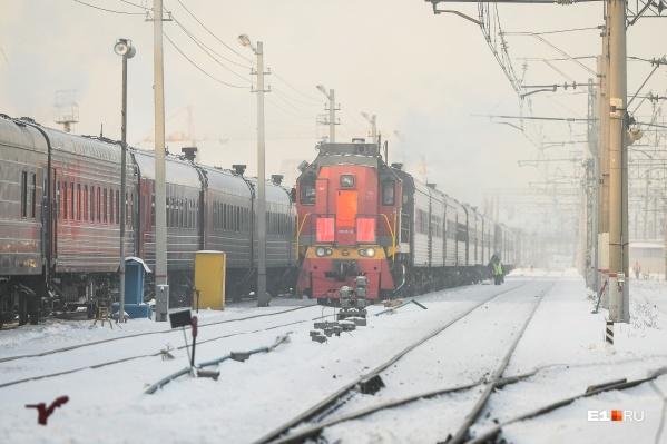 Авария произошла на железнодорожном переезде этой ночью
