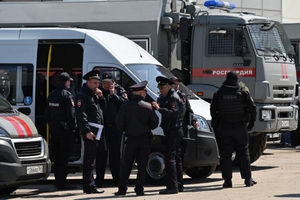 Среди задержанных граждане четырех стран
