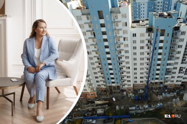 Екатерина Торопова уверена, что ипотека выгоднее, чем аренда жилья