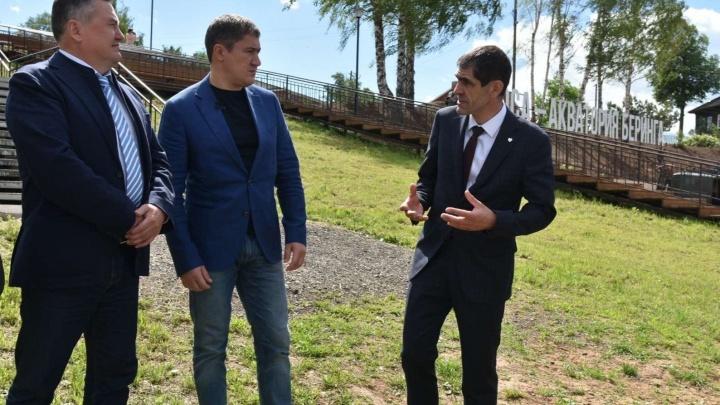 Нужно инвестировать в туризм: Дмитрий Махонин и Валерий Сухих посетили Осу с рабочим визитом