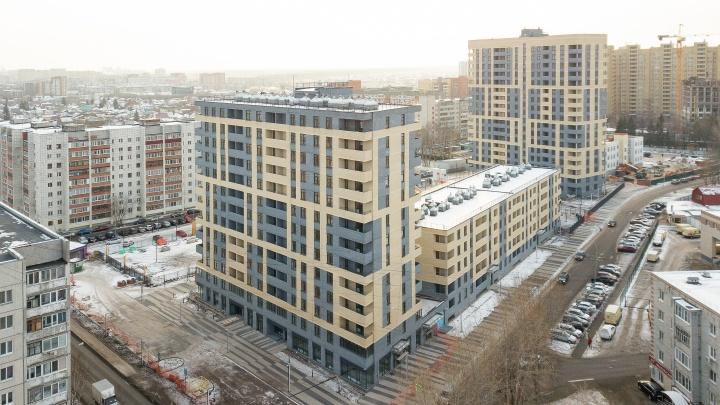 ЖК «Квартал на Московском» построен с опережением сроков