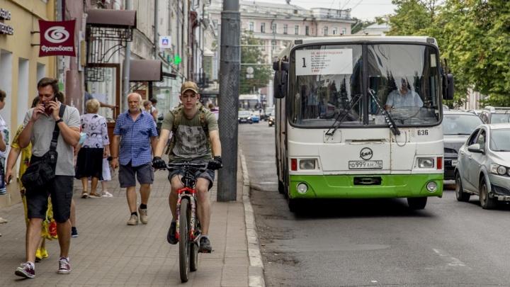 Первый положительный отзыв: в Ярославле автомобилисты нашли плюс в новой транспортной схеме