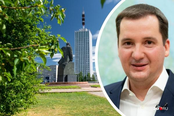 В своем поздравлении Александр Цыбульский не забыл упомянуть наши белые ночи