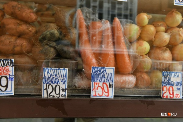 Рост цен на овощи никак не останавливается