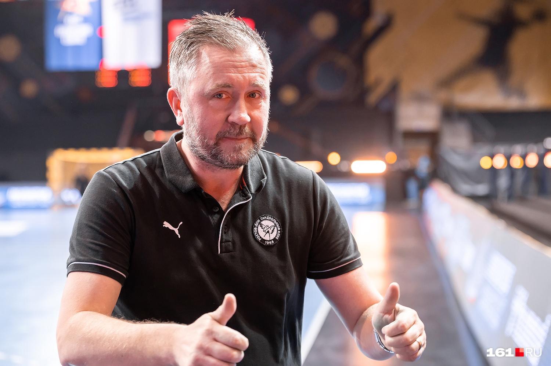 Главный тренер «Ростов-Дона» Пер Юханссон после матча был в хорошем настроении