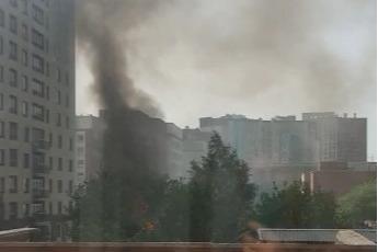 Пожар на улице 9 Ноября: в горящем частном доме погиб один человек
