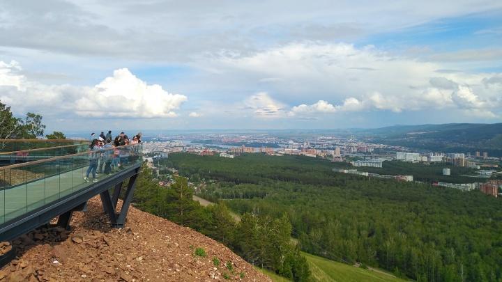 В Красноярск пришла жара, но ненадолго: скоро вернутся тучки