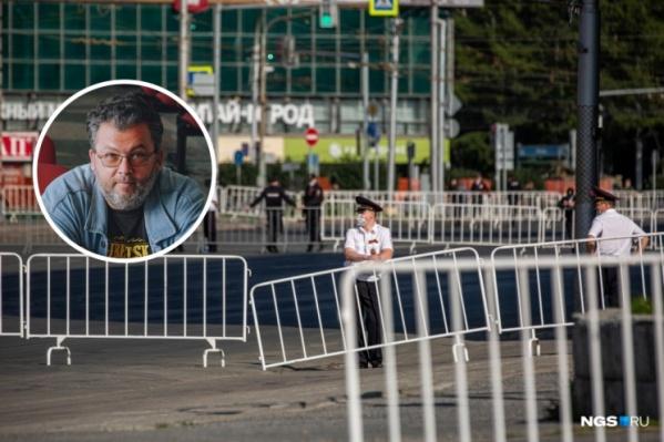 В постановлении имеется информация о заявителе, но Андрей Поздняков отказался называть его имя и фамилию, сославшись на то, что это персональные данные