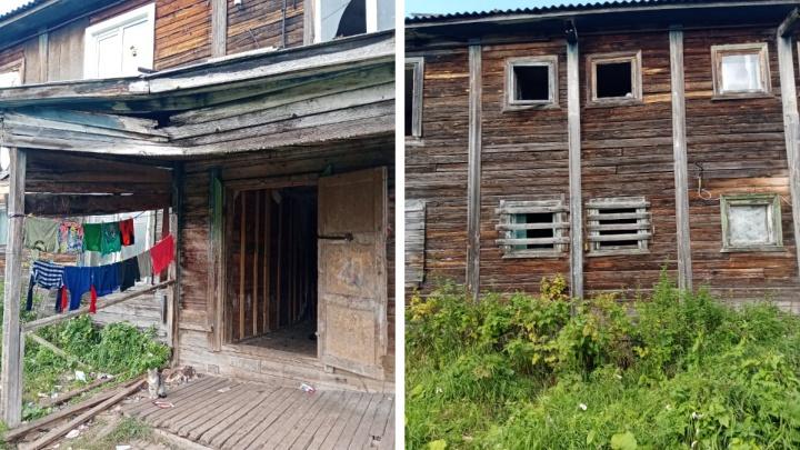 Интересуется Бастрыкин: в Шенкурском районе завели уголовное дело из-за аварийной «деревяшки»