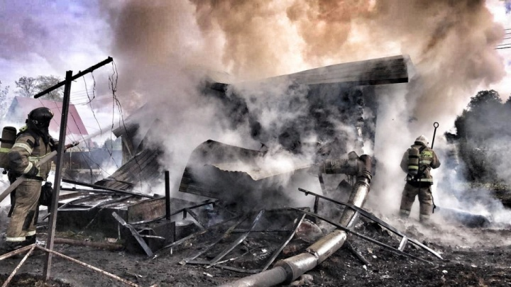 Стало известно о состоянии 11-летнего мальчика, который обгорел при пожаре в Уфе