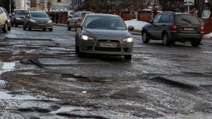В Уфе часть улицы Комсомольской перекроют до августа