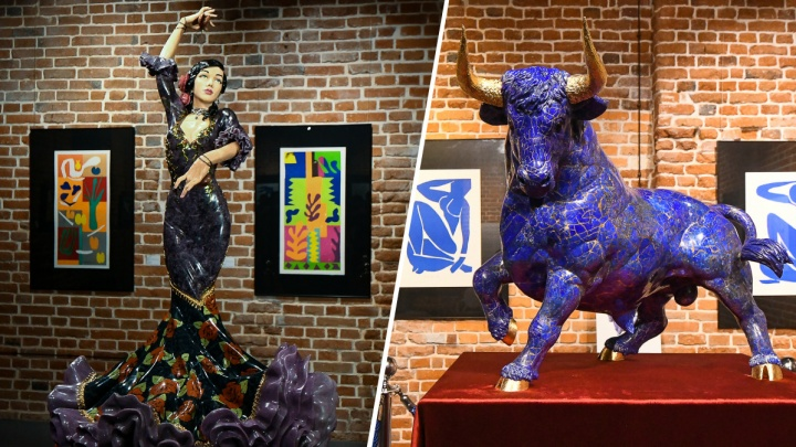 Уральцы создали три скульптуры, которые стоят больше 10 млн долларов. Рассказываем, из чего они сделаны