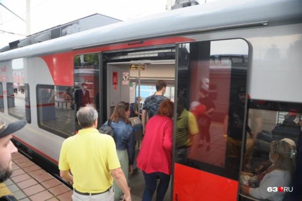 Электрички — неплохая альтернатива межгородским автобусам