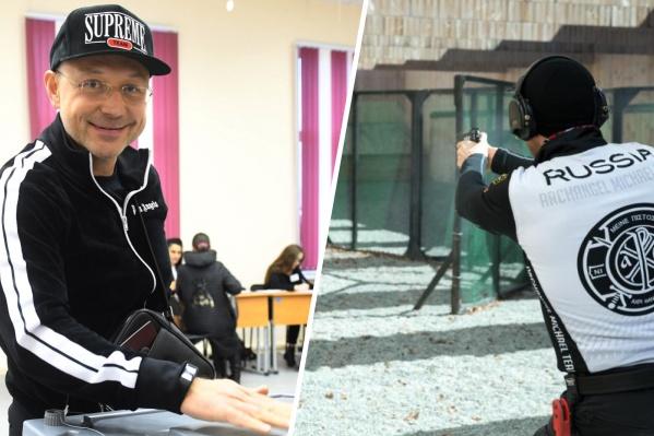 Игорь Алтушкин (на фото слева) всерьез занимается практической стрельбой