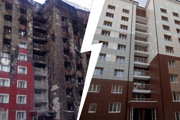 Три года назад, 8 января 2018 года, пожар на Олимпийской оставил без крова десятки жильцов