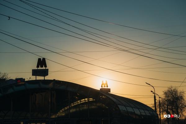 Сейчас в Самаре 10 станций метро