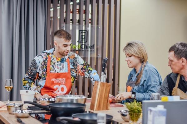 В новом салоне«Lorena кухни» можно научиться готовить и заодно протестировать саму кухню