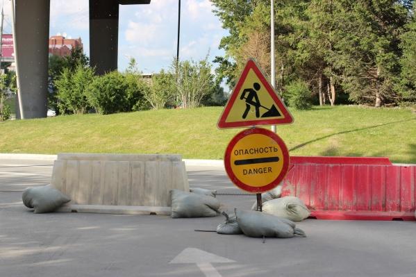 Строительство дороги начали 15 июня