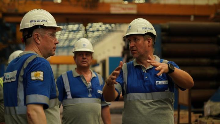 Горячий комплекс MMK Metalurji в Турции официально возобновил работу