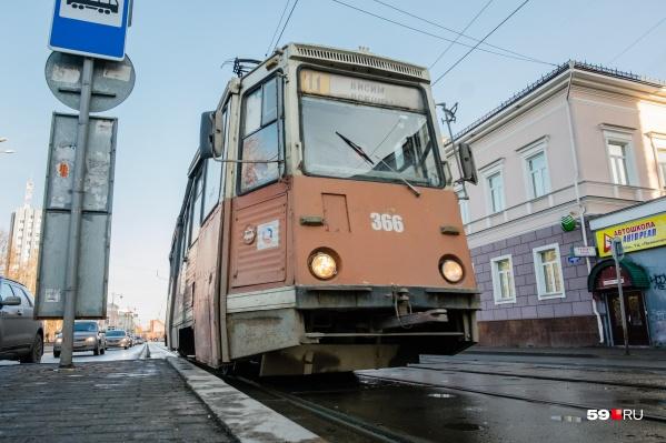 После ремонта бесстыковые рельсы позволят ездить трамваям тише и быстрее