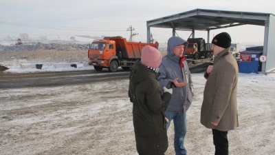 Руководство единственного мусорного полигона под Красноярском отказалось возвращать его городу