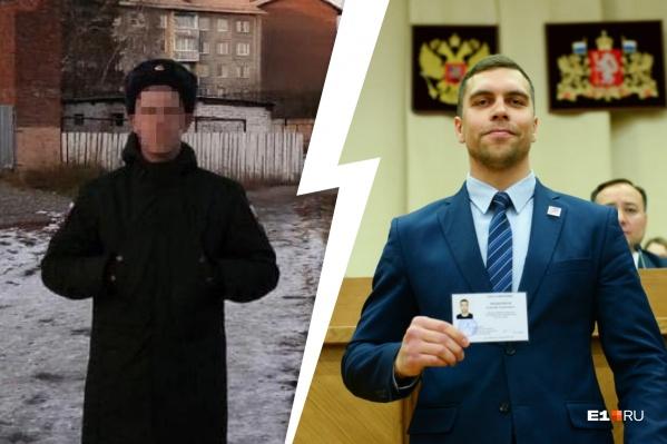 ДепутатАлексей Мещеряков обвинил E1.RU в гей-пропаганде после текста о Денисе, который недавно отслужил в армии