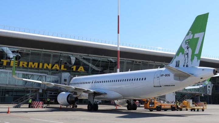 Подавший сигнал тревоги пассажирский самолет сел в аэропорту Казани