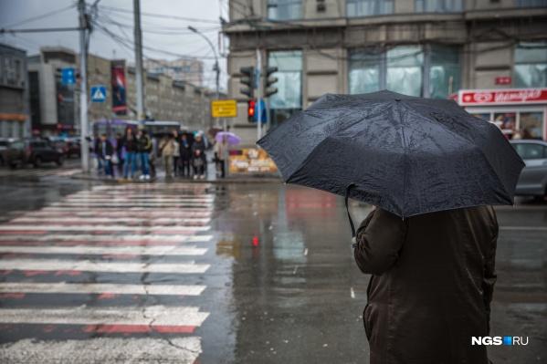 В среднем в октябре 11 дождливых дней