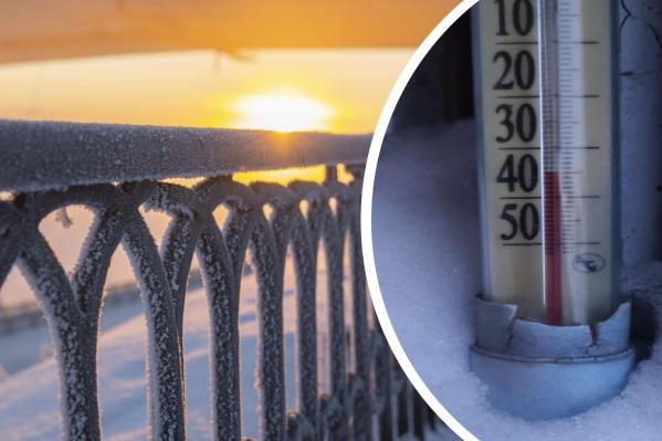 В Ярославской области ударили морозы