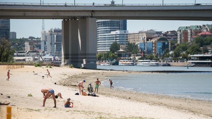 В Ростове откроются только три официальных пляжа