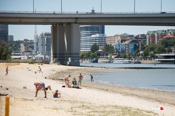 Пляжи откроются 1 июня