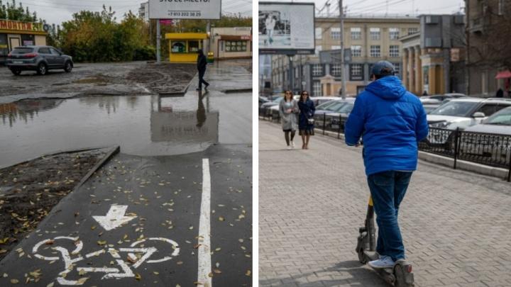В Новосибирске предложили организовать велодорожки, но мэрия не согласилась. Разбираемся почему
