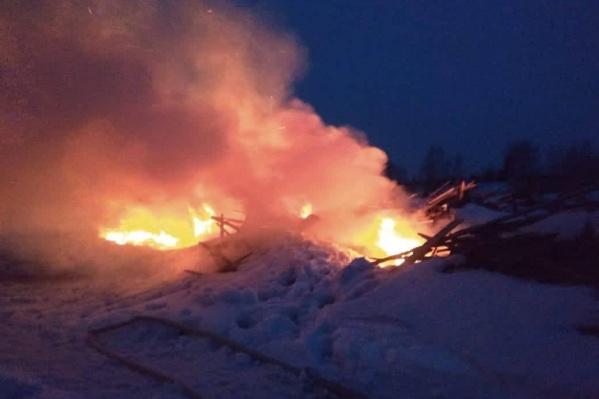 Прокуратура уже организовала проверку по факту пожара