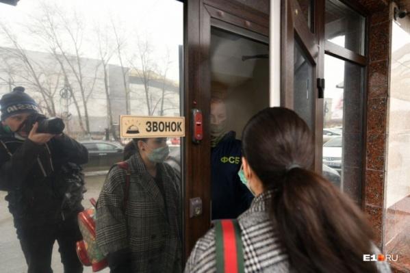 Обыски у Колосовского прошли рано утром 8 апреля