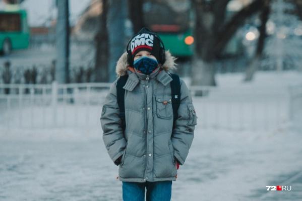 Морозы не отступают