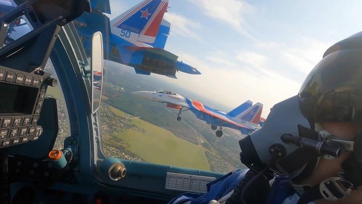 Ближе вы их не видели: крутое видео от «Русских Витязей», которые устроят авиашоу над Архангельском