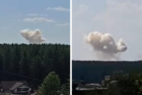 Мощный взрыв было слышно в Краснотурьинске, Карпинске и окрестностях