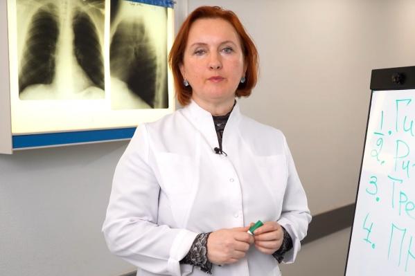 Профессор Ольга Курушина<br>
