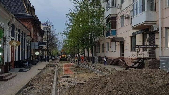 В Краснодаре улица Чапаева станет однополосной